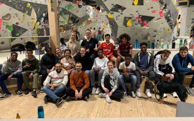 Ein RYL! Wochenende für Kohorte III: Bouldern, Matching und erstes Training